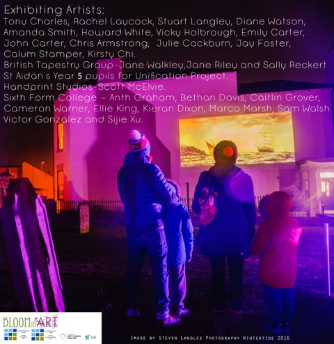Projected exibition2017opening